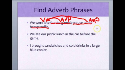 Adjective  Adverb Phrases  Youtube