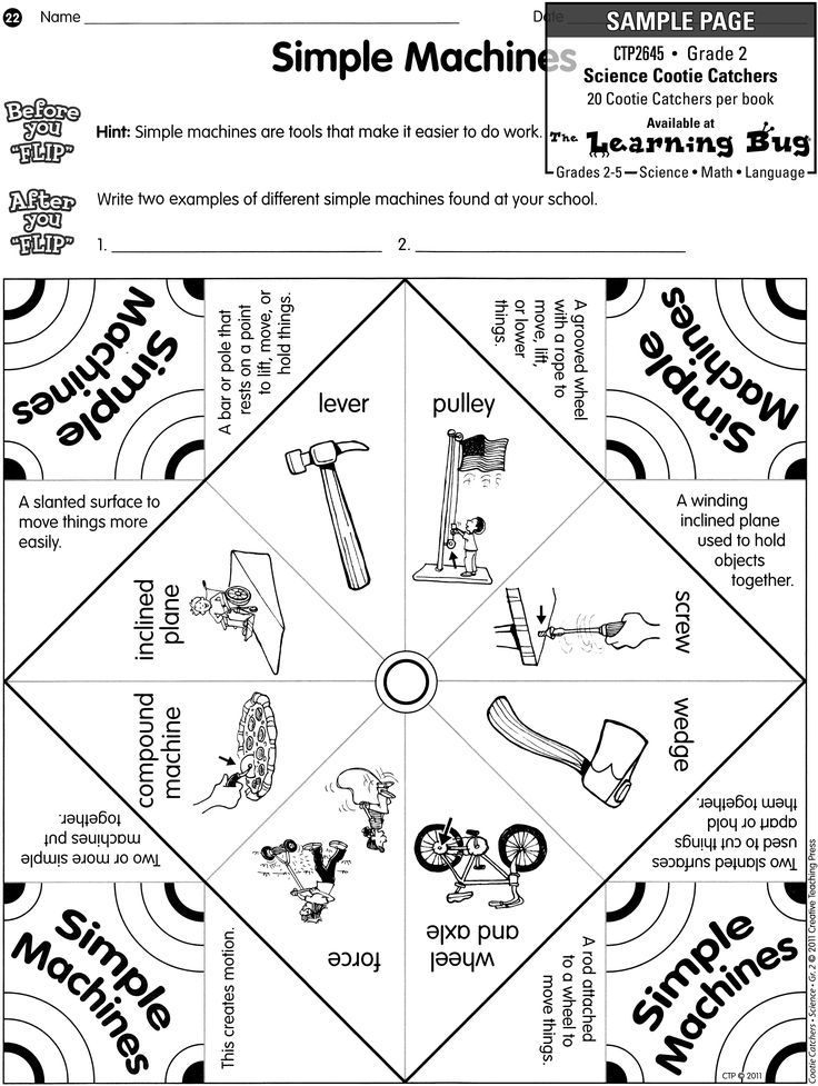 Best Collections Th Grade Simple Machines Worksheet
