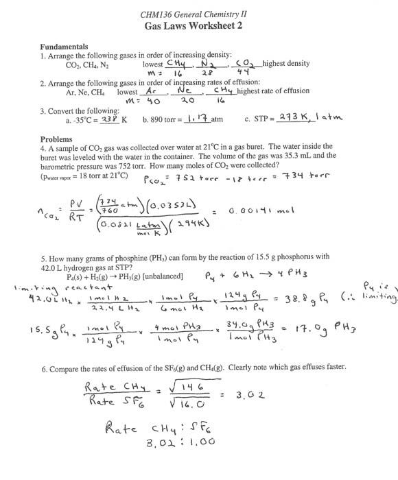 Best Images Of High School Chemistry Worksheet Answers