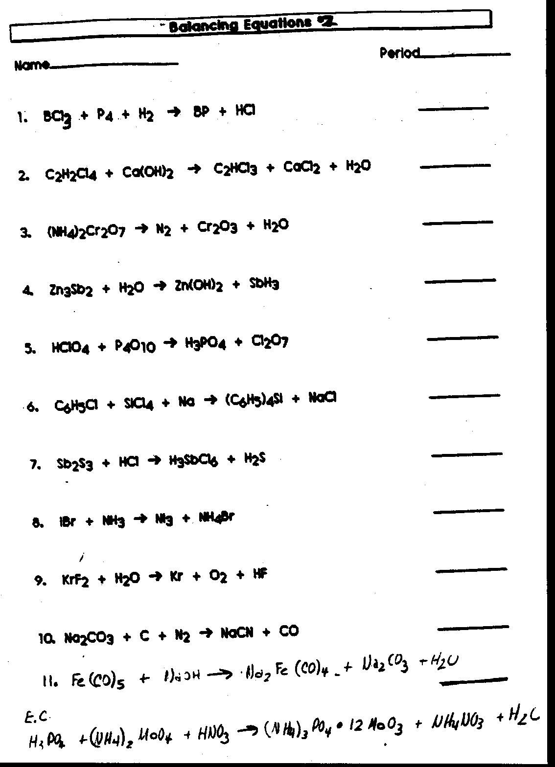 Best Images Of Organic Oxidation Reactions Worksheet