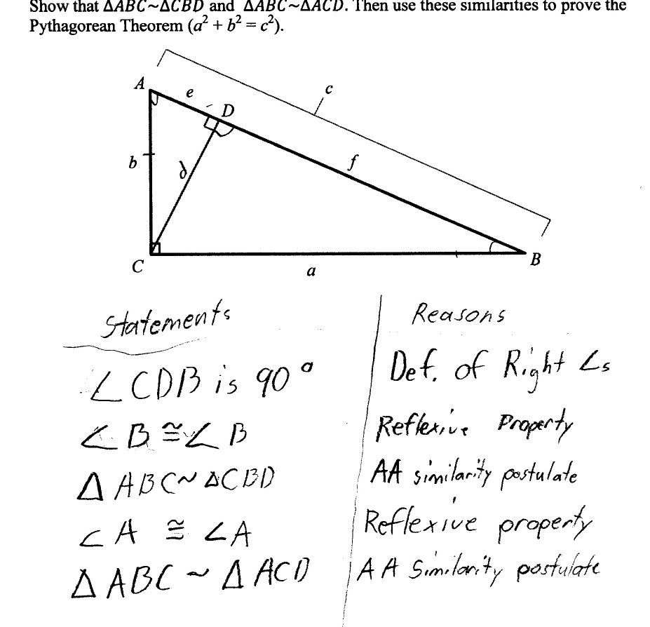 Best Images Of Similar Triangles Worksheet With Answers