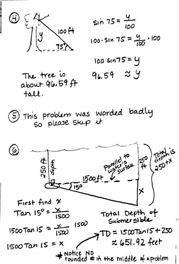 Best Images Of Trigonometry Worksheets And Answers Pdf