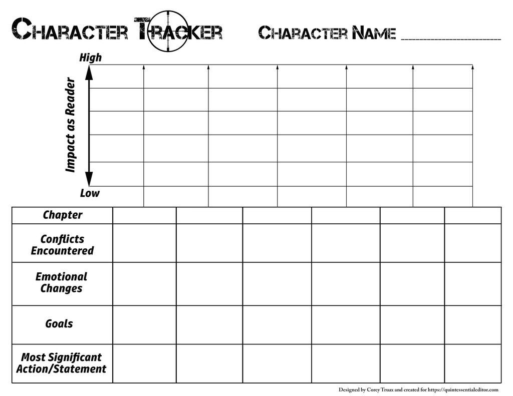Character Arc Tracker  Character Arc Writing Memes
