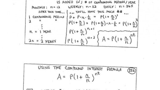 Continuous Compound Interest Worksheet With Answers — Db