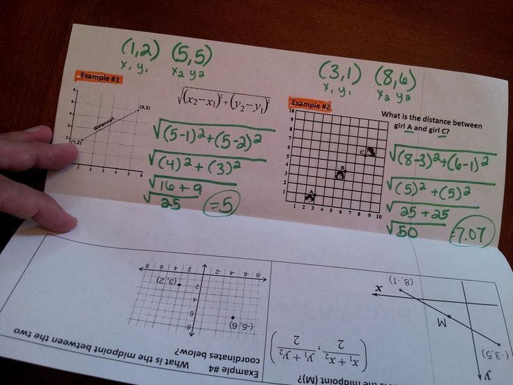 Distance And Midpoint Worksheet Answers Luxury Distance