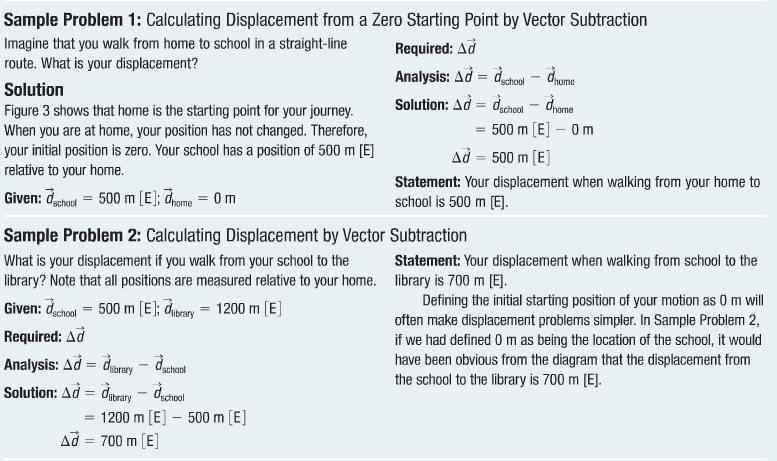 Distance Displacement And Position  Grade  Physics