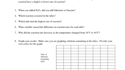 Enzymes Worksheet Printable Worksheets And Activities For
