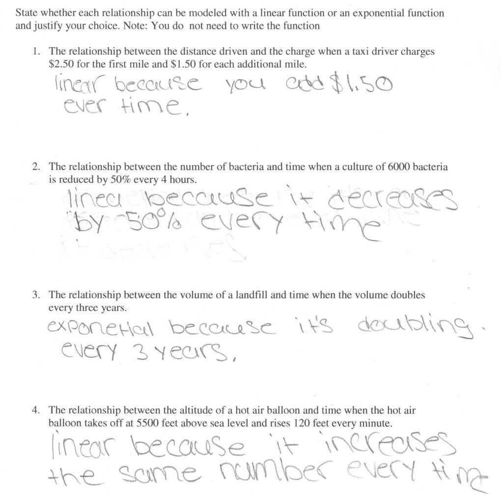 Exponential Growth And Decay Word Problems Worksheet Mean