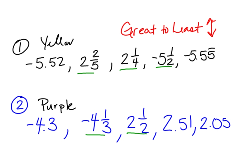 First Grade Math Worksheets Least To Greatest  First