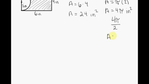 Geometry Find The Area Of The Shaded Region  Youtube