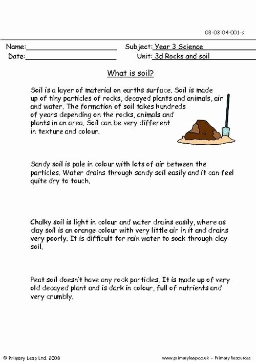 Layers Of Soil Worksheet  Chessmuseum Template Library