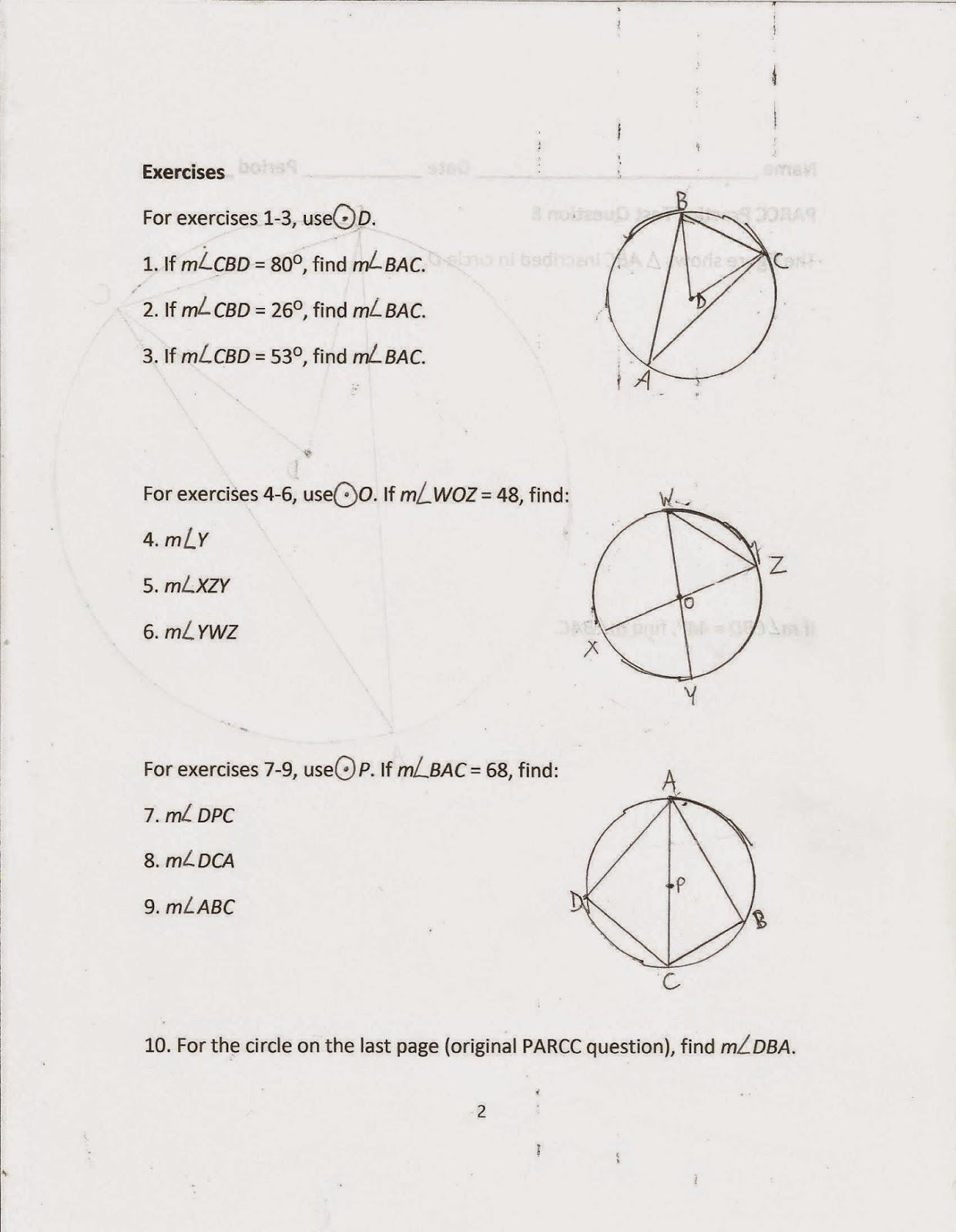 Midpoint And Distance Formula Worksheet With Answers — Db