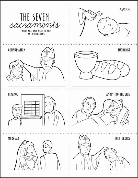 Order Of The Mass Worksheet In   Catholic