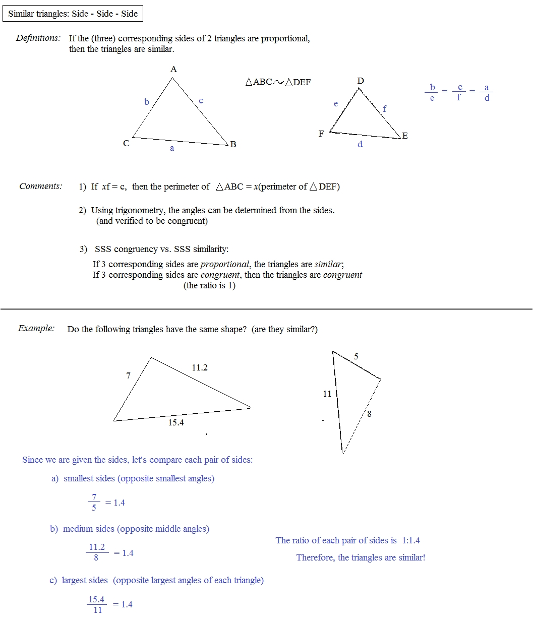 Proportions And Similar Figures Worksheet — Dbexcel