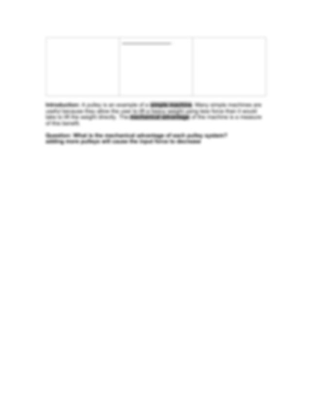 Pulleylabsedoc Pdfpdf  Name Date Student Exploration
