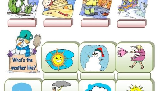 Seasons And Weather  Weather Worksheets Learning Games