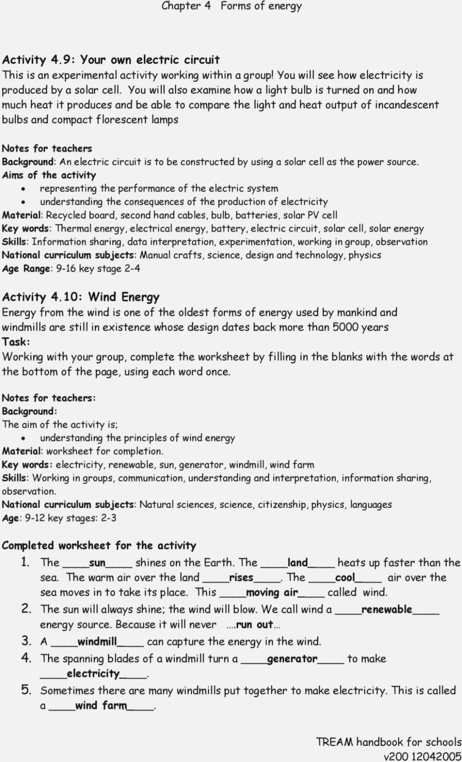 Specific Heat Problems Worksheet With Answers  Worksheet