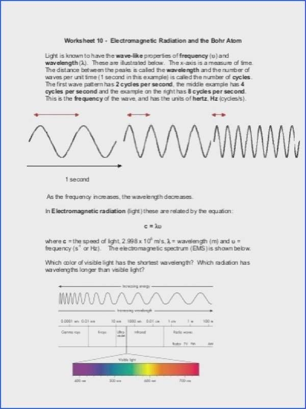Speed Frequency Wavelength Worksheet  Chapter   Speed