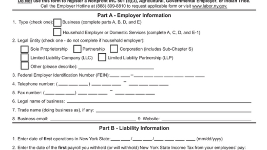Unemployment Nyc Form For Taxes  Nemploy